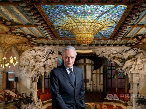 Spanish tenor José Carreras / Photo courtesy of Pingtung Cultural Affairs Department