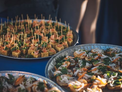 Taiwanese-Vietnamese fusion food served at TaiwanFest in Toronto on Friday