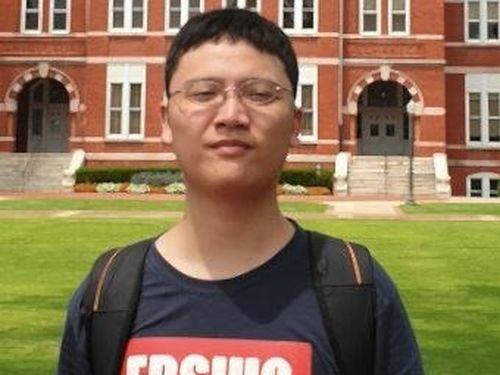 Taiwanese student Lai Chih-kai (photo from news.auburnalabama.org)