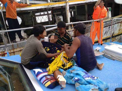Photo courtesy of Penghu coast guard