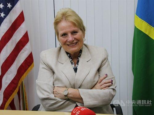Catherine Ebert-Gray, the U.S.  Ambassador to Papua New Guinea, the Solomon Islands and Vanuatu