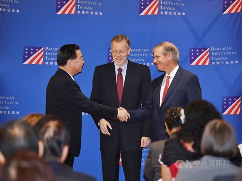 Left to right: Taiwan