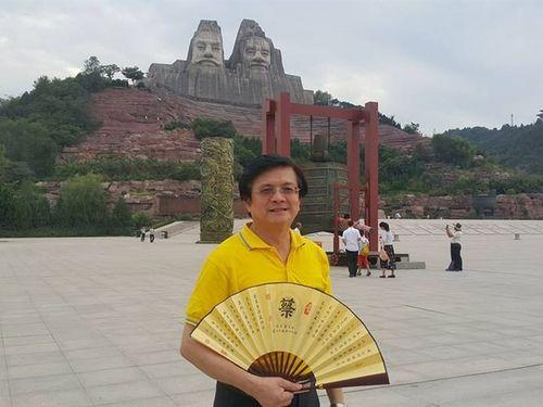 Chairman of the South Taiwan Cross-Strait Relations Association Tsai Chin-shu/photo from Tsai