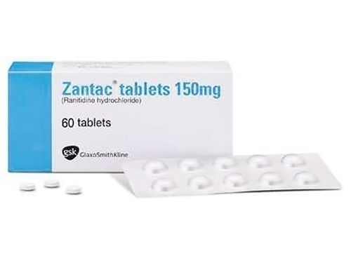 Heartburn medication Zantac / Photo from GSK website