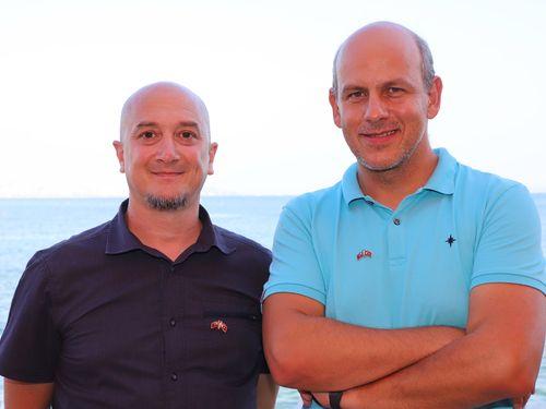 Cilasun Bayulgen (left), Emre Ayan (right)