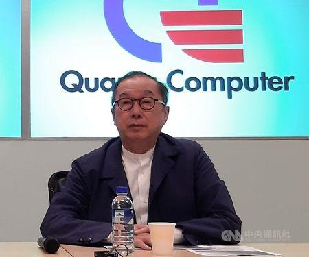 Quanta Computer Inc. Chairman Barry Lam CNA file photo