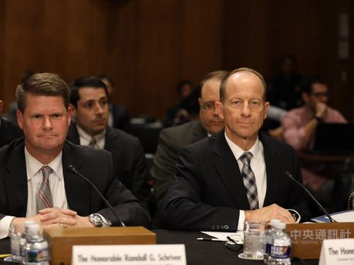 David Stilwell (right)