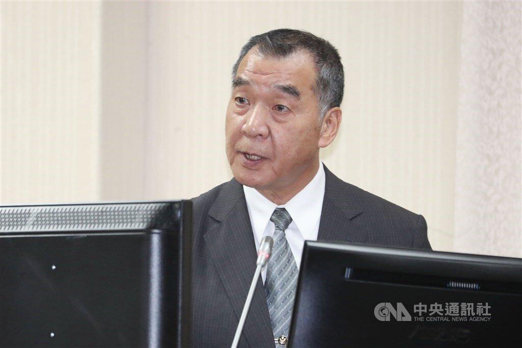 National Security Bureau Director-General Chiu Kuo-cheng (邱國正) CNA file photo