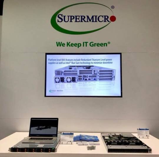 Photo taken from Supermicro Facebook