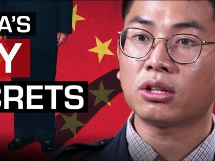 Wang William Liqiang (Image from 60 Minutes Australia YouTube channel)