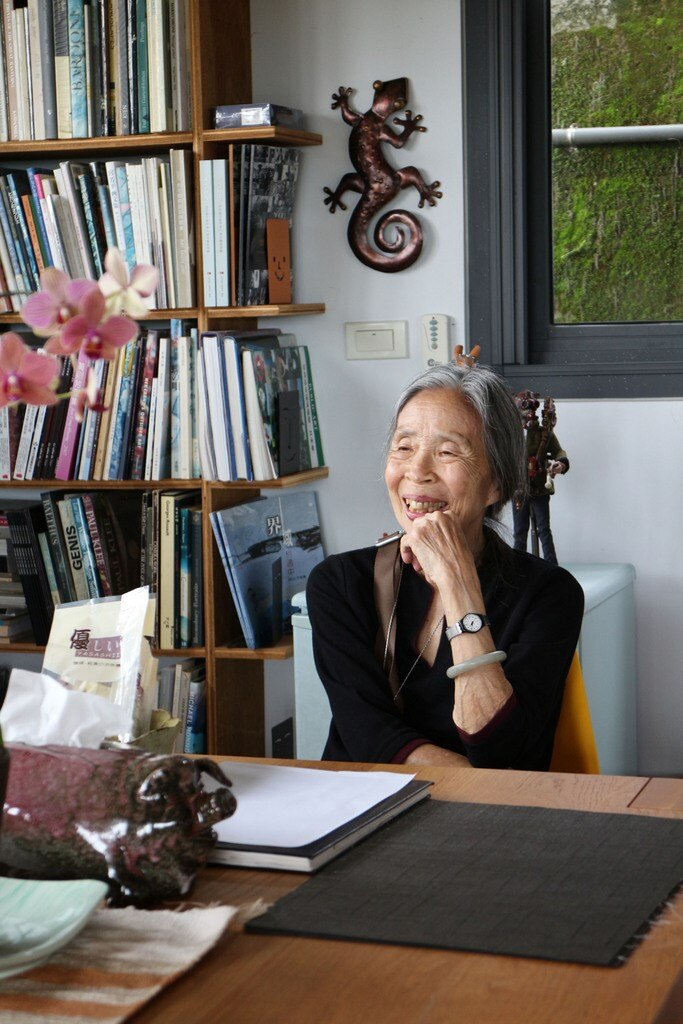 Wang Chiu-hwa (photo courtesy of The National Culture and Arts Foundation)