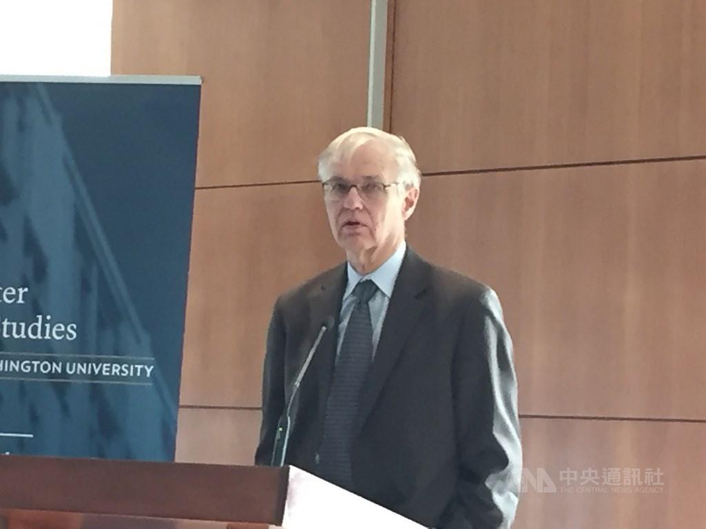 Former American Institute in Taiwan Chairman Richard Bush