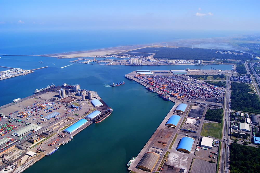 Port of Taichung. Photo courtesy of Taiwan International Ports Corp.