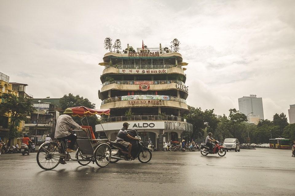 Hanoi in Vietnam (Image taken from Pixabay)