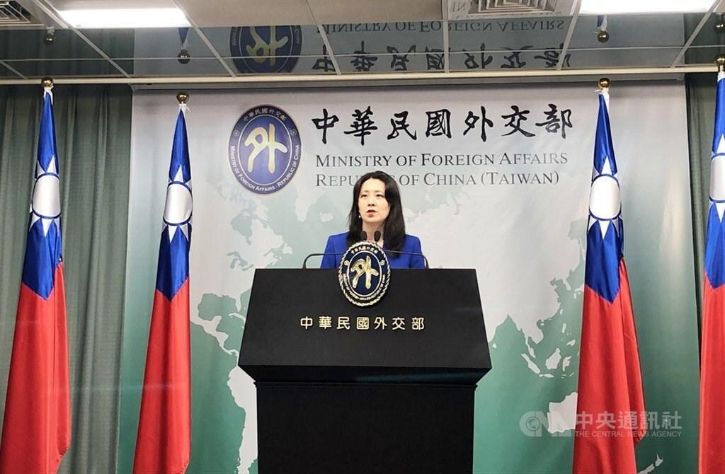 MOFA spokeswoman Joanne Ou