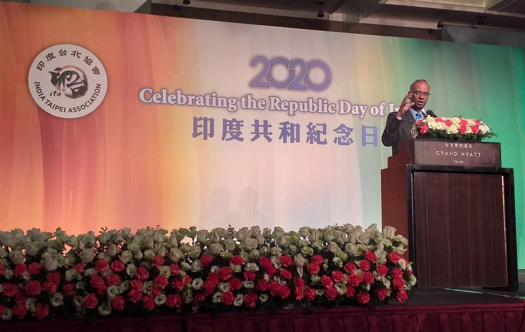 Sridharan Madhusudhanan, director general of the India-Taipei Association