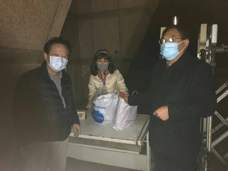 Photo taken from SEF Vice Chairman Yao Jen-to