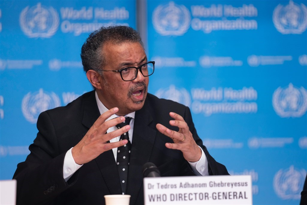 WHO Director General Tedros Adhanom Ghebreyesus. Photo taken from twitter.com/WHO