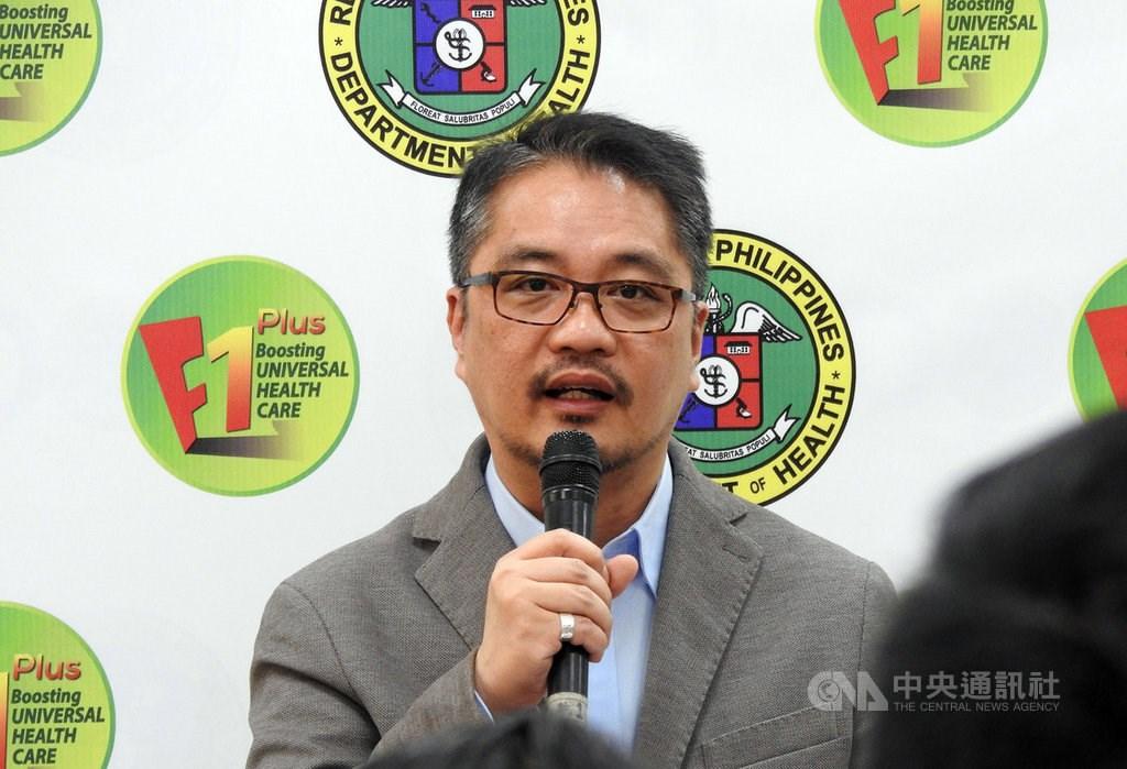 Eric Domingo, the Philippine health undersecretary