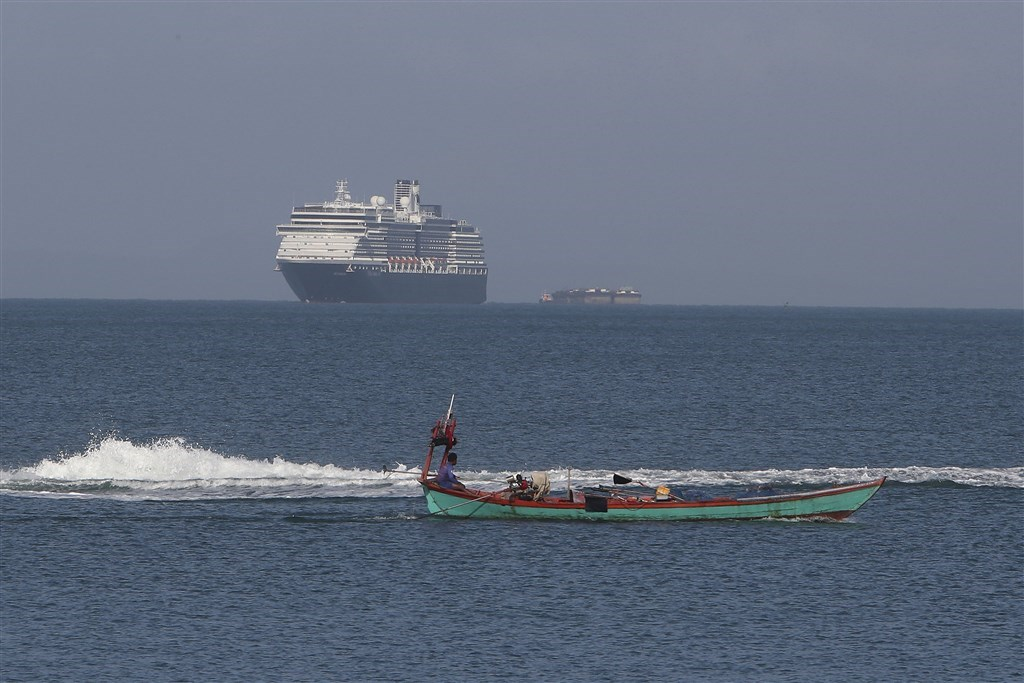 Photo of the MS Westerdam by the Associated Press