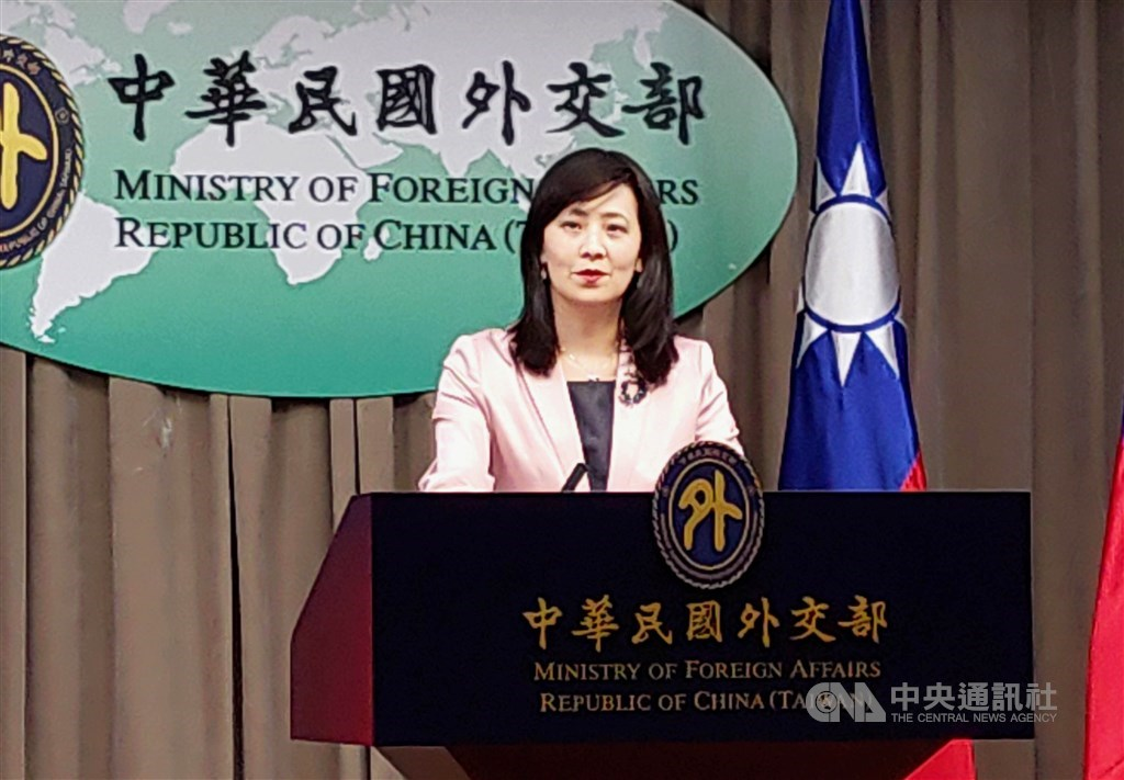 MOFA spokeswoman Joanne Ou / CNA file photo