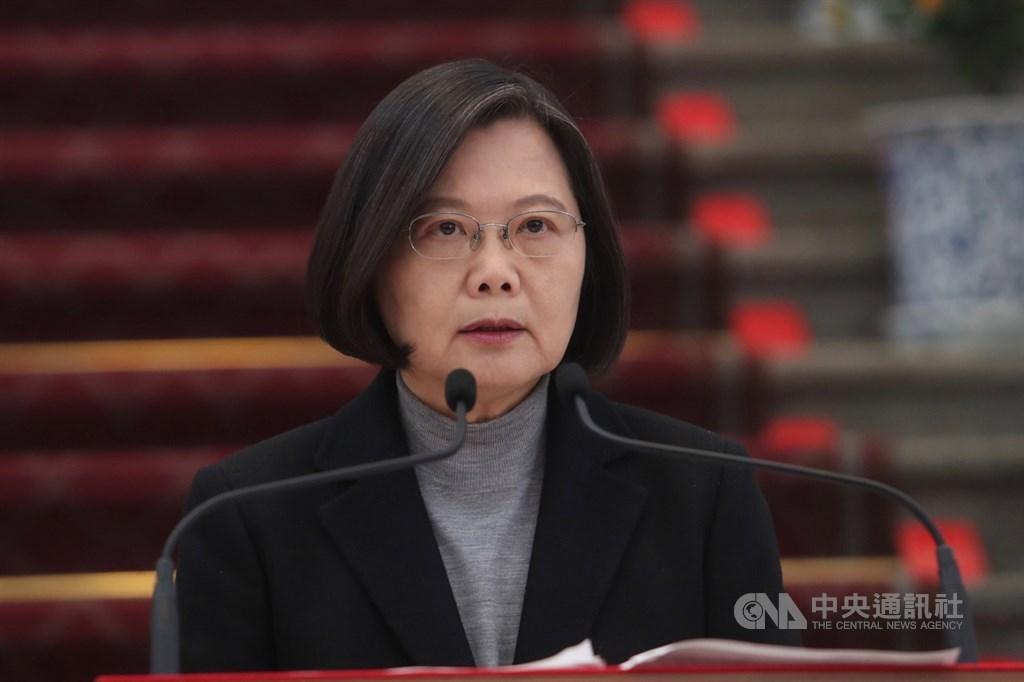 President Tsai Ing-wen, CNA file photo.