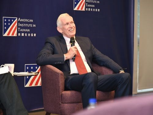 American Institute in Taiwan (AIT) Chairman James Moriarty (File photo)