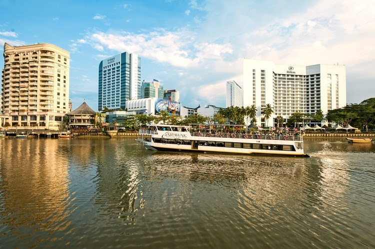Kuching Waterfront, Sarawak (Image taken from the Malaysia Tourism Promotion Board website)