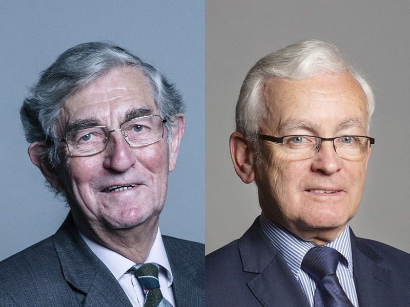 Lord Rogan, left, and Martin Vickers (Photo from Wikimedia Commons)