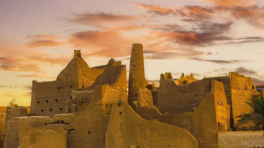 Historical Dir'iyah, Saudia Arabia (Image taken from visitsaudi.com)