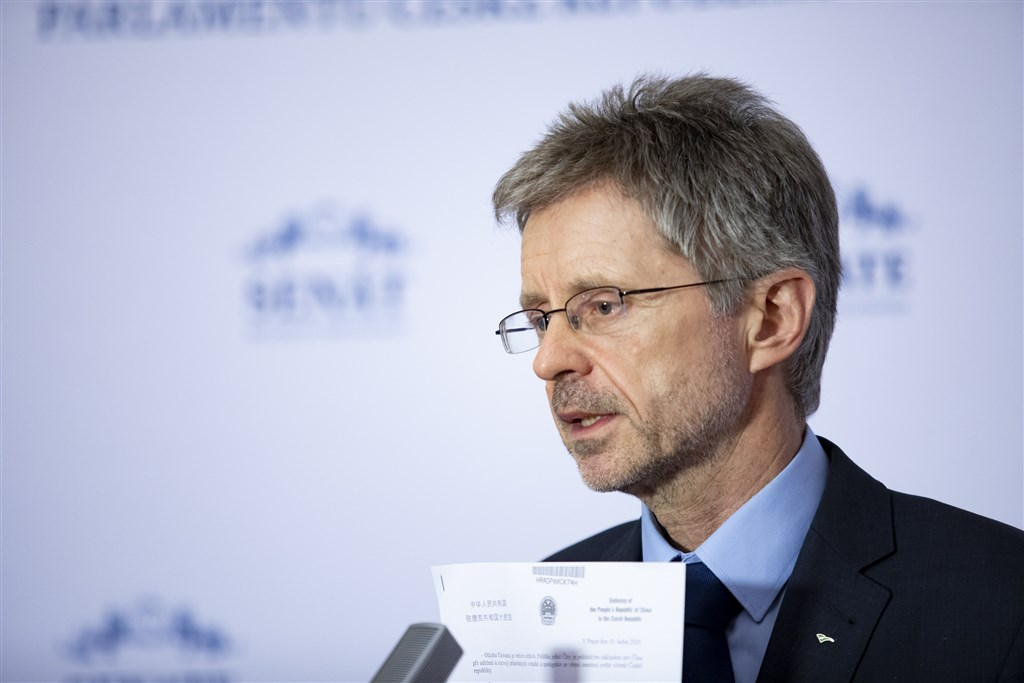 Czech Senate President Miloš Vystrčil (Image taken from Vystrčil