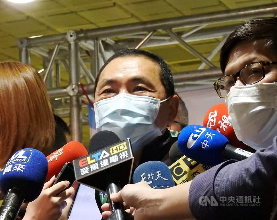 New Taipei Mayor Hou You-yi (侯友宜)