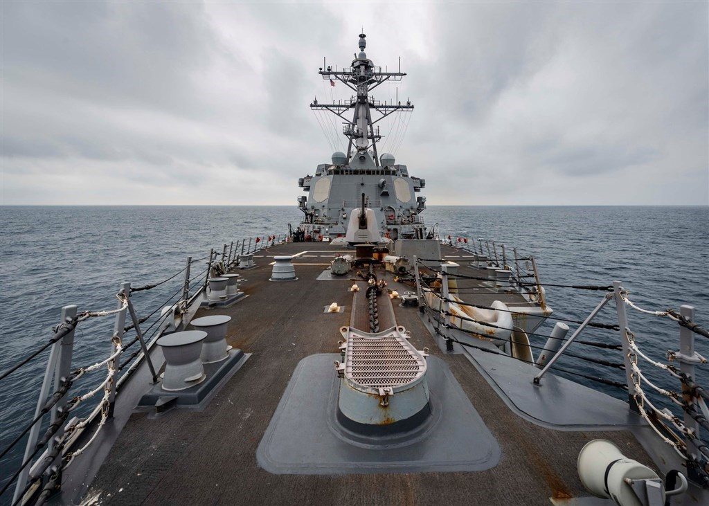 USA warship sails through Taiwan Strait amid heightened China tensions