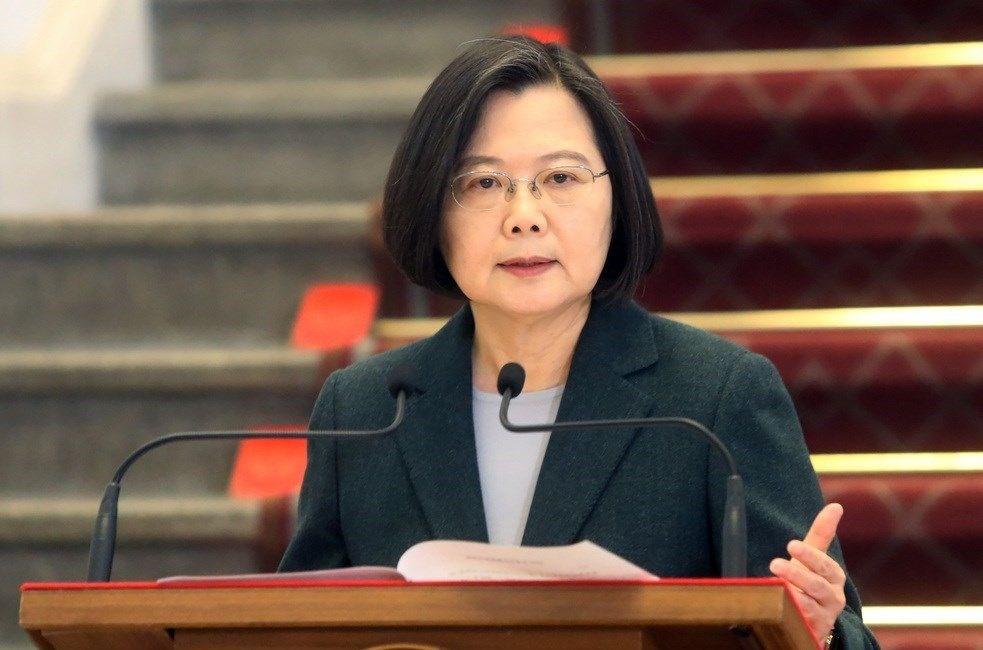 Taiwan President Tsai Ing-wen (蔡英文, CNA file photo)