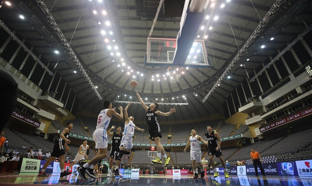 One of the HBL games at Taipei Arena.