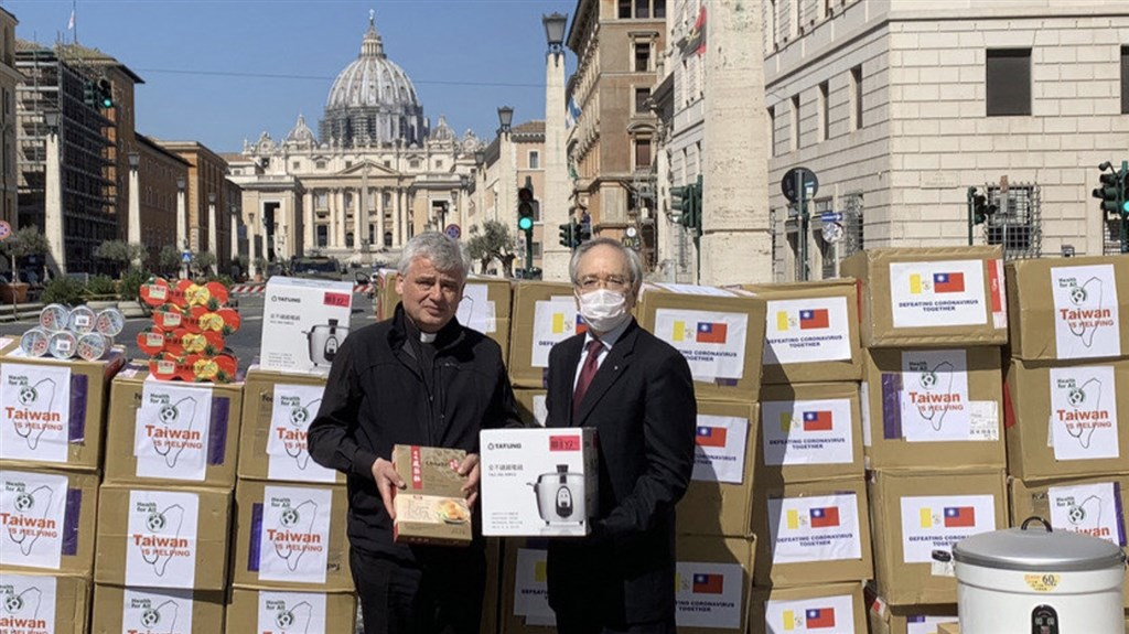 Photo courtesy of the Embassy of the Republic of China (Taiwan) to the Holy See.