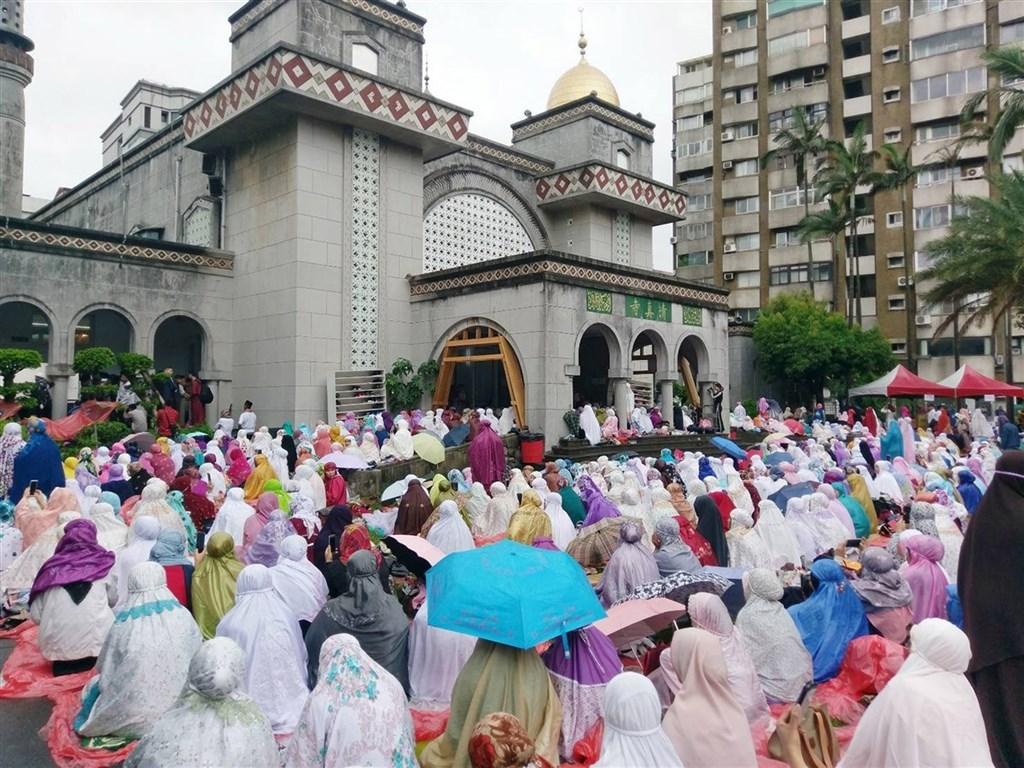 Muslims in Taiwan celebrate the annual Eid al-Fitr festival in 2018/ Photo courtesy of the Tourism Bureau