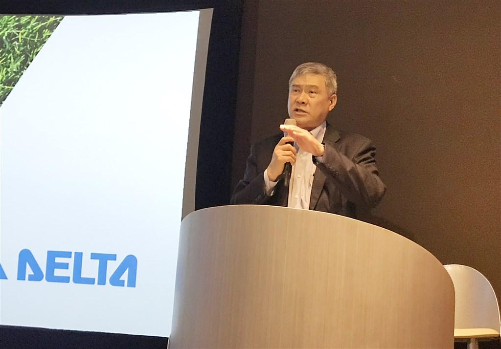 Delta Electronics Inc. Chairman Yancey Hai CNA file photo