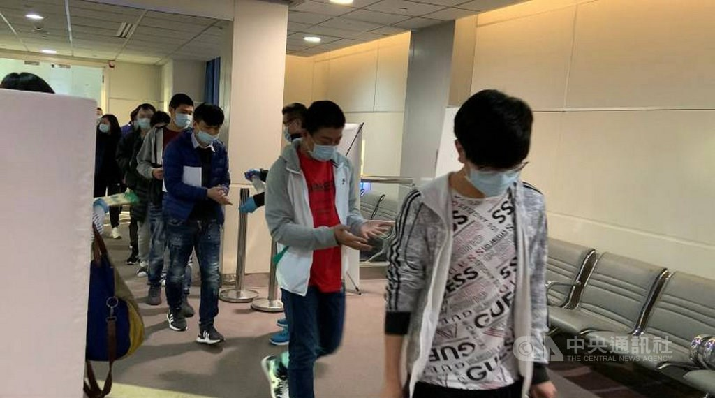 Taiwanese suspects accused of cross-border telecom fraud in Montenegro.Photo courtesy of the Taichung District Prosecutors