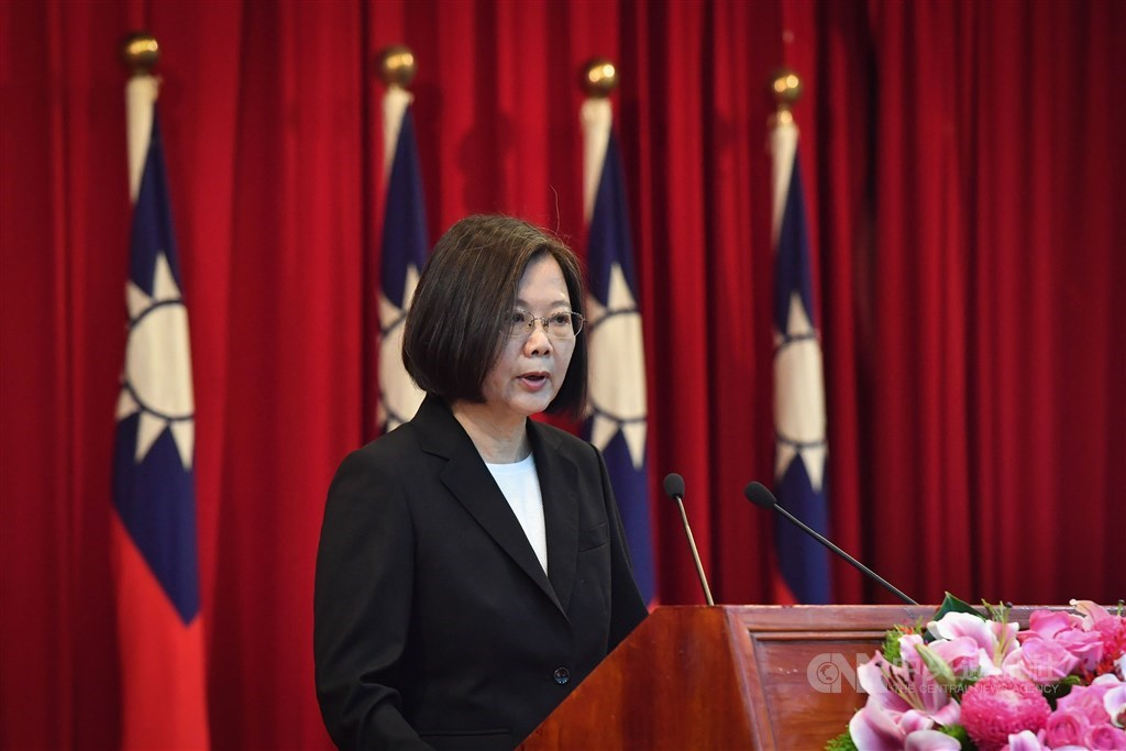 President Tsai Ing-wen. / CNA photo June 23, 2020