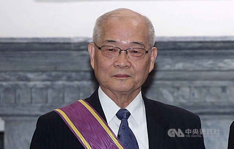 Chen Ding-shinn at the Presidential Office in 2018. / CNA photo July 19, 2018.