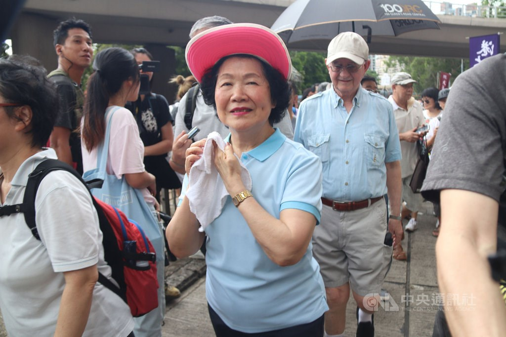 Anson Chan Fang On-Sang (CNA file photo)