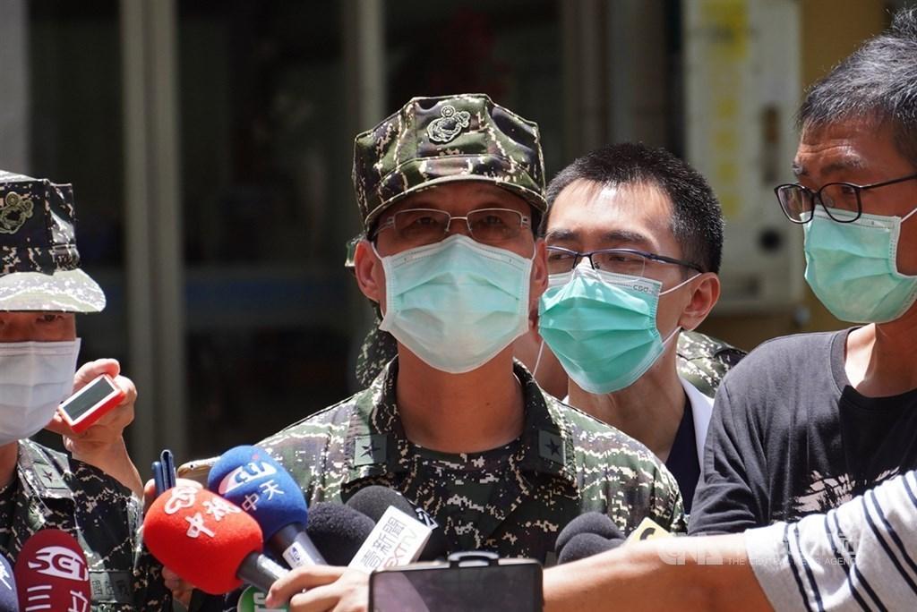 Major General Lin Chuan-sheng (林傳盛) / CNA photo July 3, 2020