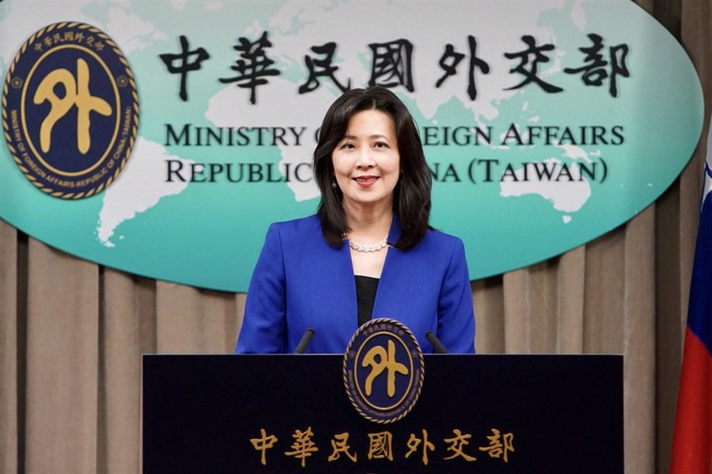 MOFA spokeswoman Joanne Ou (歐江安)