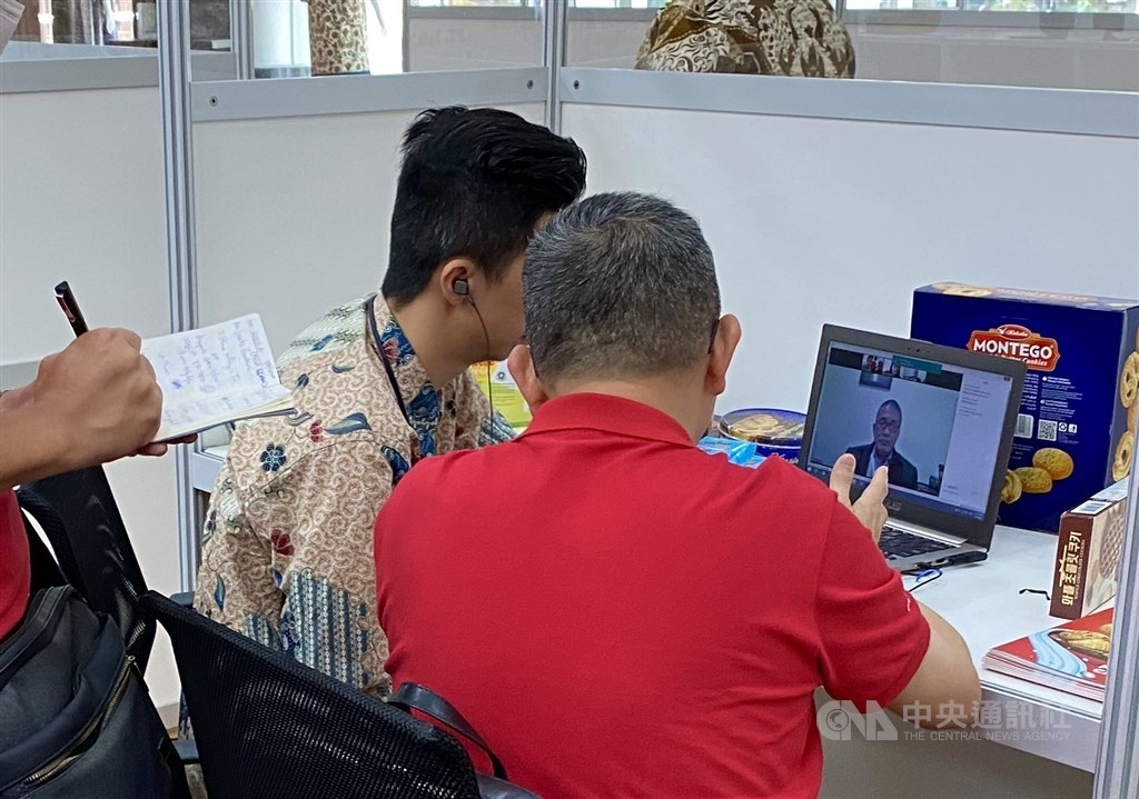 Indonesian food companies connect with Taiwanese buyers in a virtual trade show