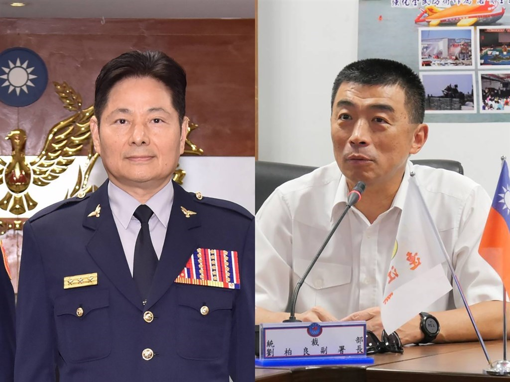 Chan Yung-mao (left) and Liu Po-liang (Combination photo courtesy of the National Police Agency)