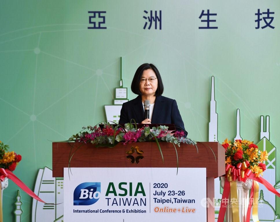 President Tsai Ing-wen. CNA Photo