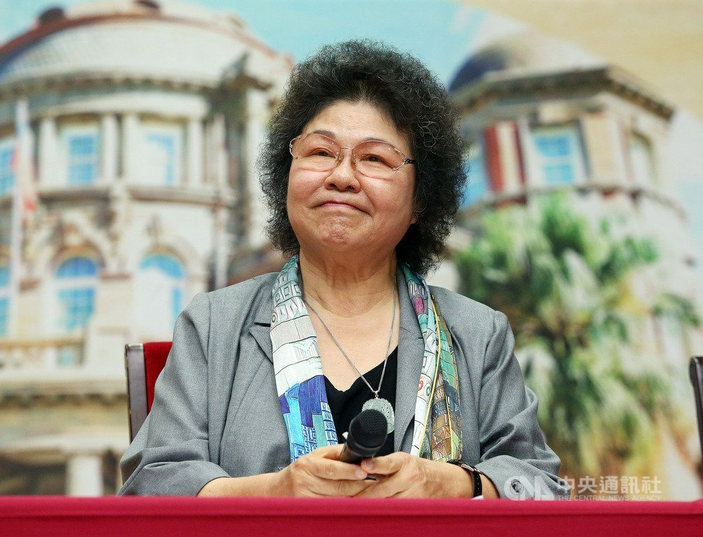 Chen Chu (陳菊) / CNA photo Aug. 1, 2020