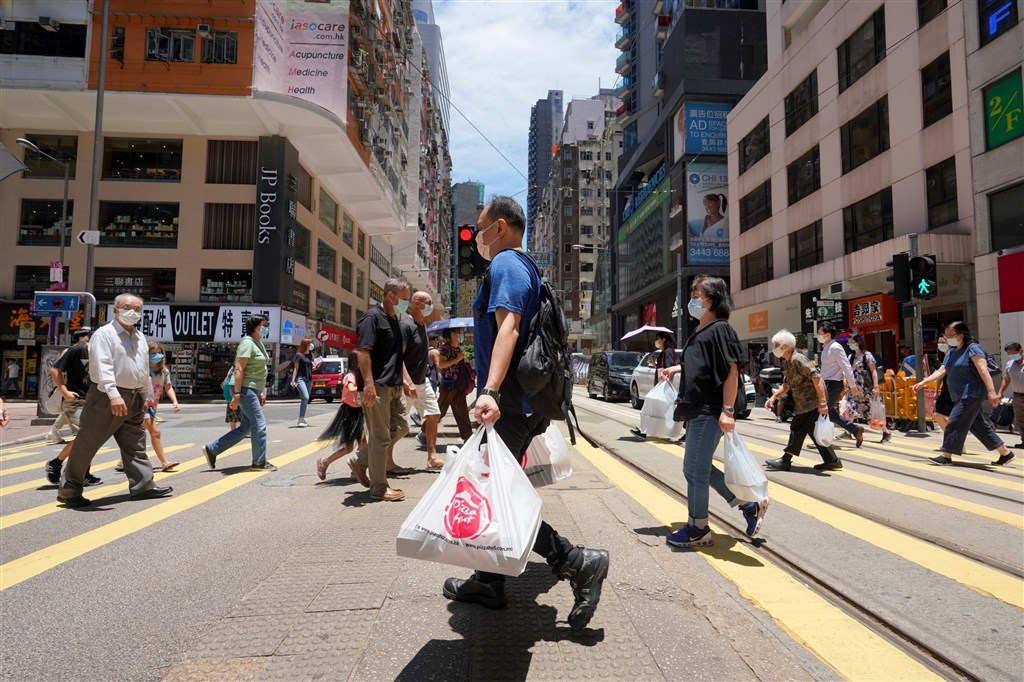 Wanchai, Hong Kong. CNA photo July 30, 2020