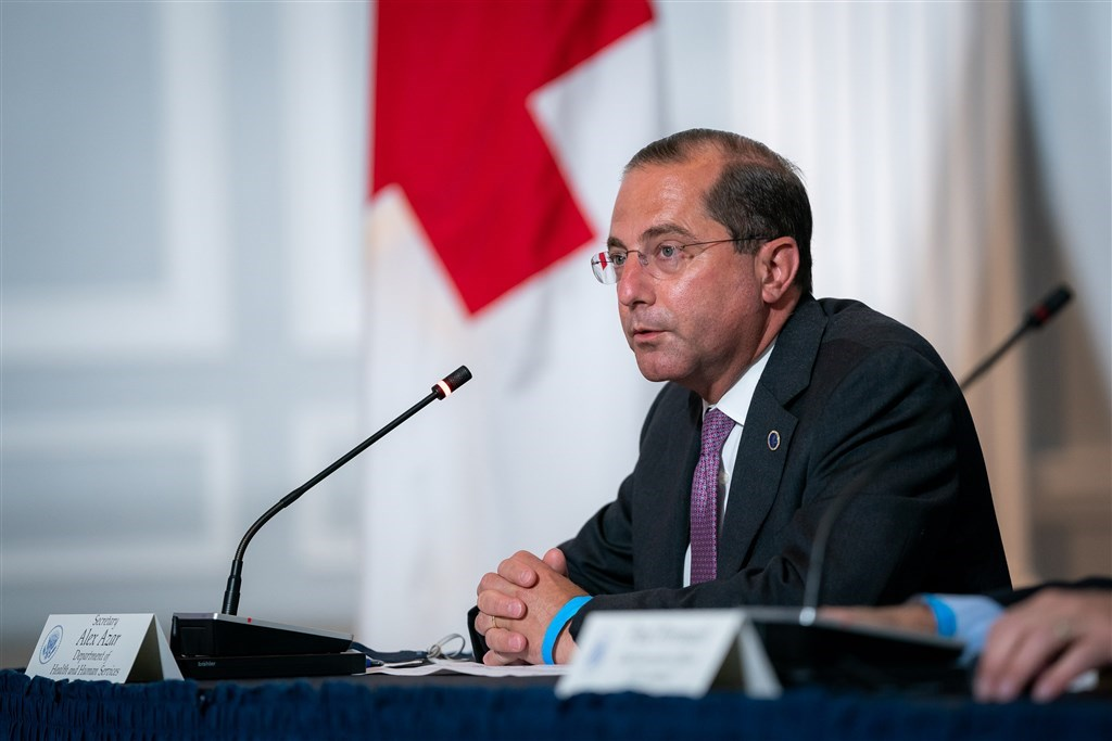 U.S. Secretary of Health and Human Services Alex Azar (Photo from The White House flickr site)